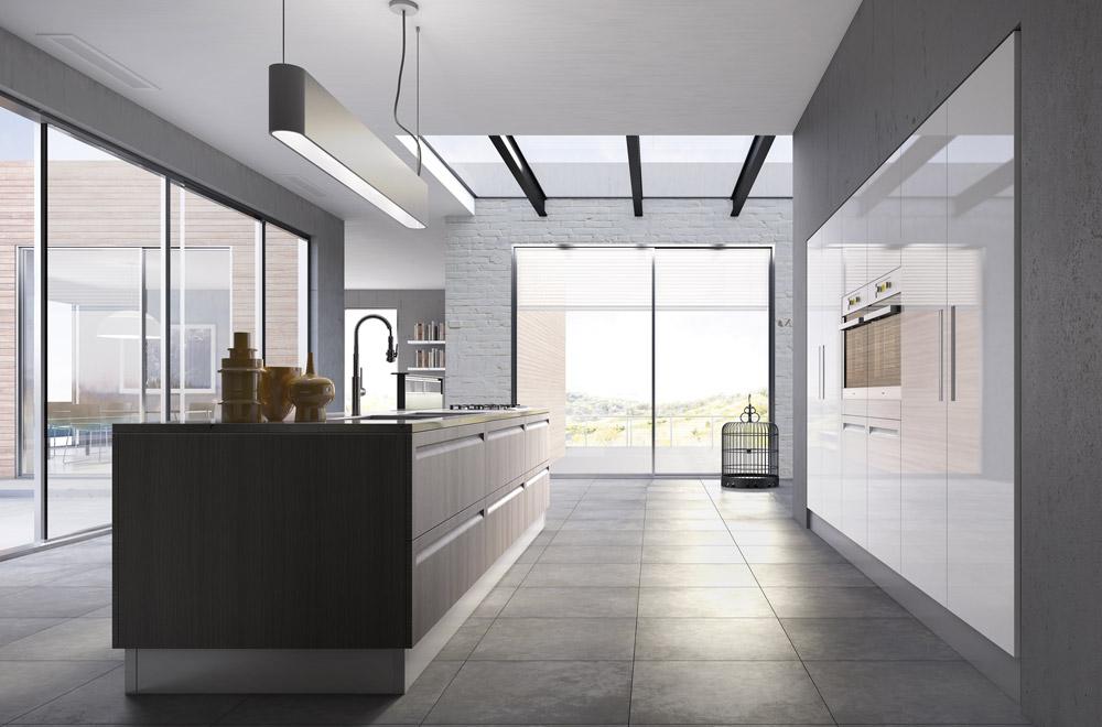Cucine Scic Moderne.Kitchen Campiglio Lab Kitchens Collection Scic Italia