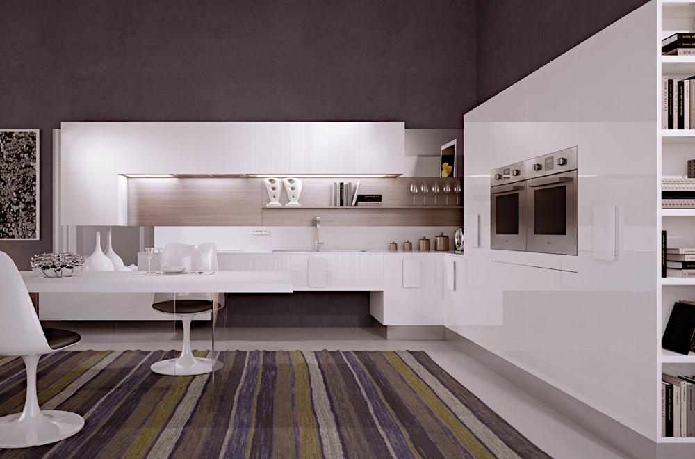 Cucine moderne bianche interesting modern with cucine