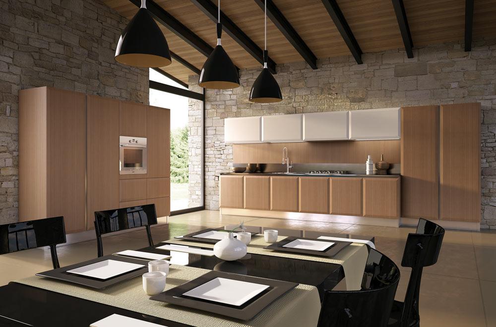 Livigno scic - Cucine moderne bianche e grigie ...