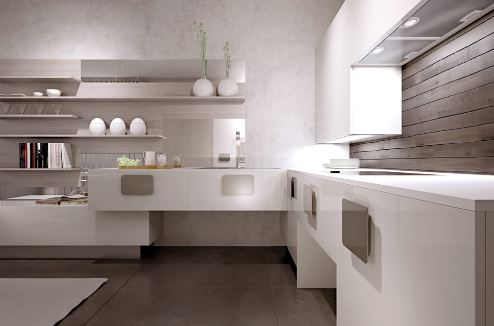 Awesome with cucine moderne bianche e nere - Cucine moderne nere ...