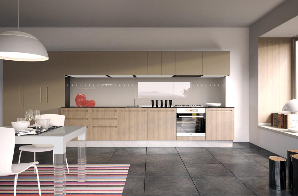 Cucina campiglio lab kitchens collection scic italia - Cucine con ante scorrevoli ...