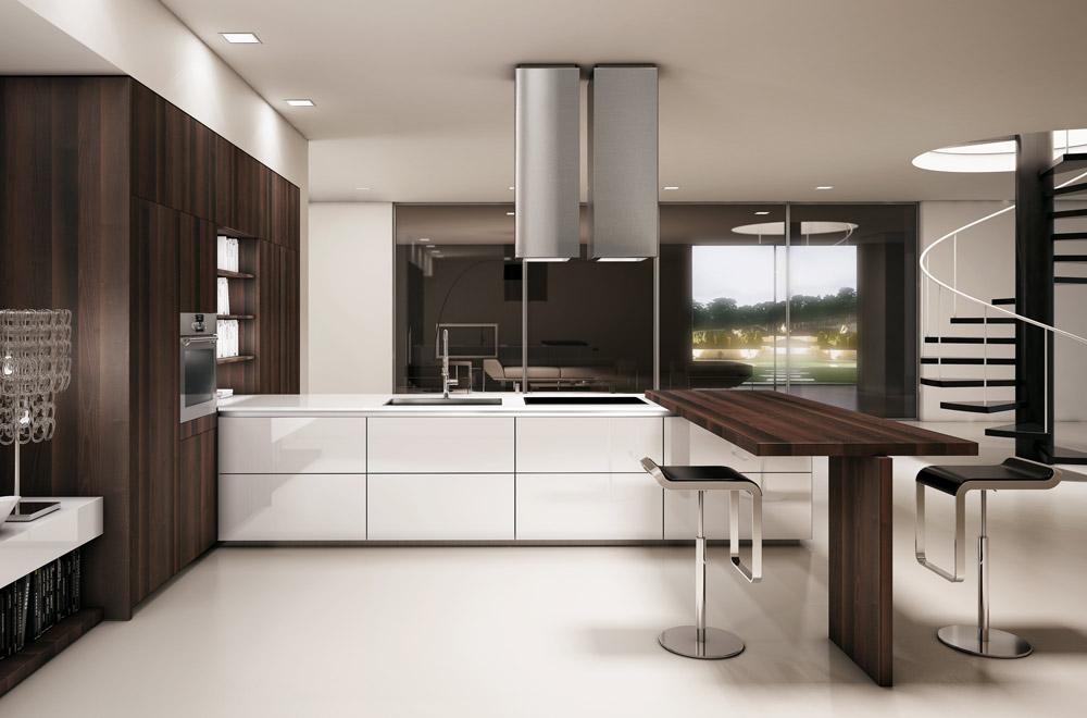 Cucine Eleganti Moderne ~ Idee Creative e Innovative Sulla Casa e ...