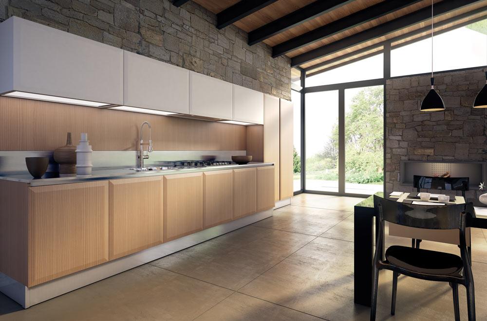 Livigno Cucine Stile Contemporaneo – Funzionali colorate Mobili ...