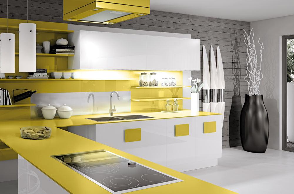 Cucine Moderne Bianche Senza Maniglie : Cucine bianche dove sono i ...