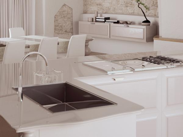 Materiali rivestimento top cucina scic italia