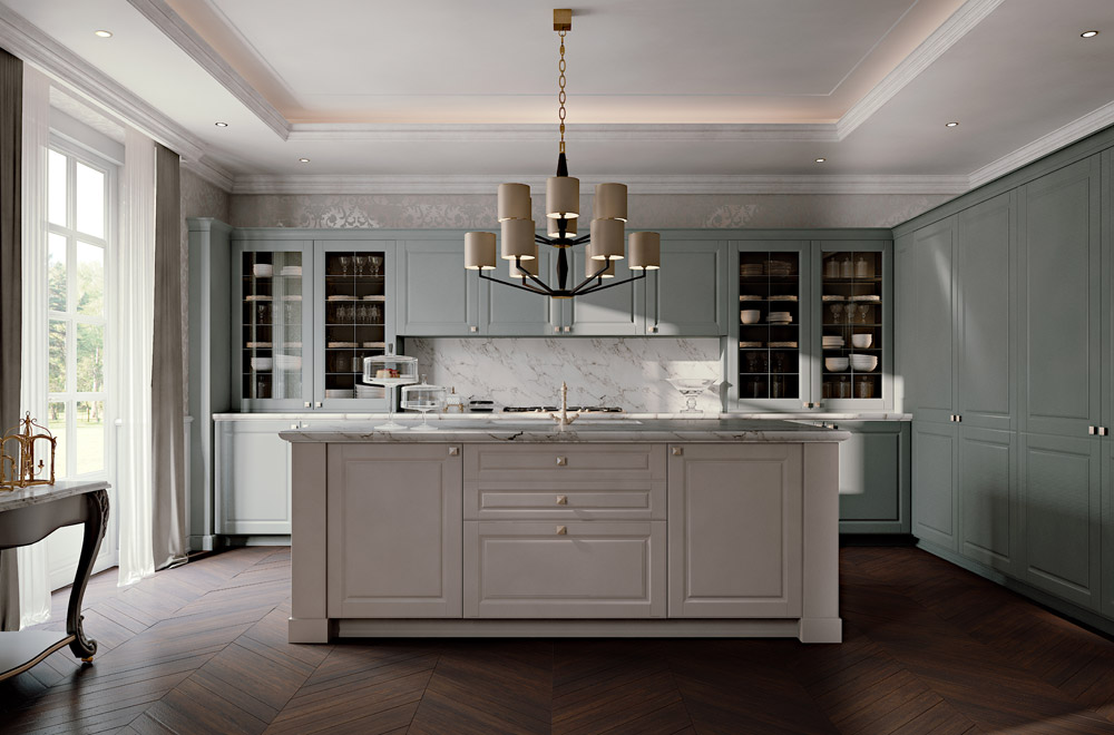 Awesome Cucine Stile Inglese Pictures - Ideas & Design 2017 ...
