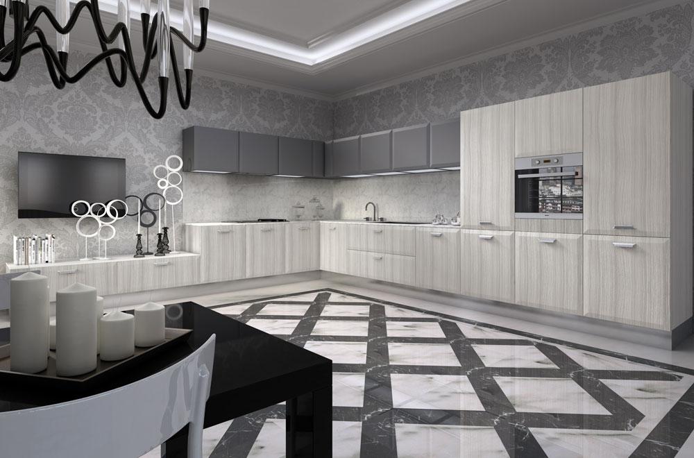 Livigno-cucine-stile-contemporaneo - SCIC Italia