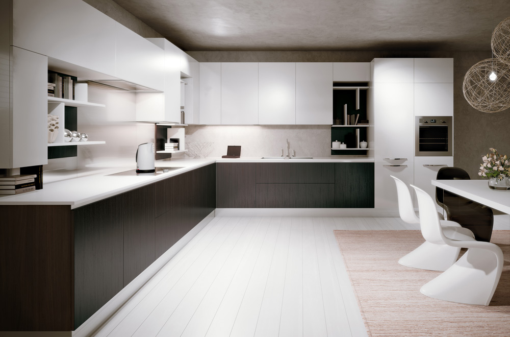 Stunning Cucina Moderna Grigia Contemporary - Skilifts.us ...