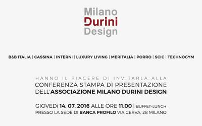 Milano Durini Design – Press Conference