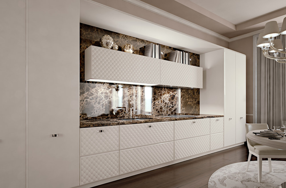 with cucine moderne di lusso