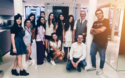 Gli studenti del Chelsea College of Arts a lezione da Scic