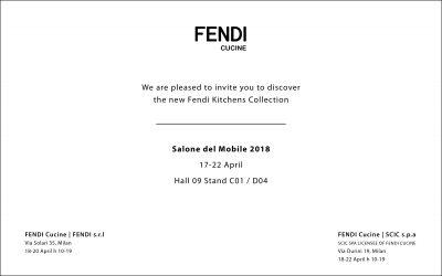 Fendi Cucine Salone del Mobile 2018