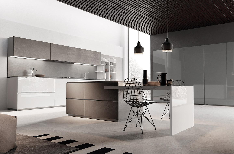 Cucina Sistema Mediterraneum - Collezione Design - SCIC Italia