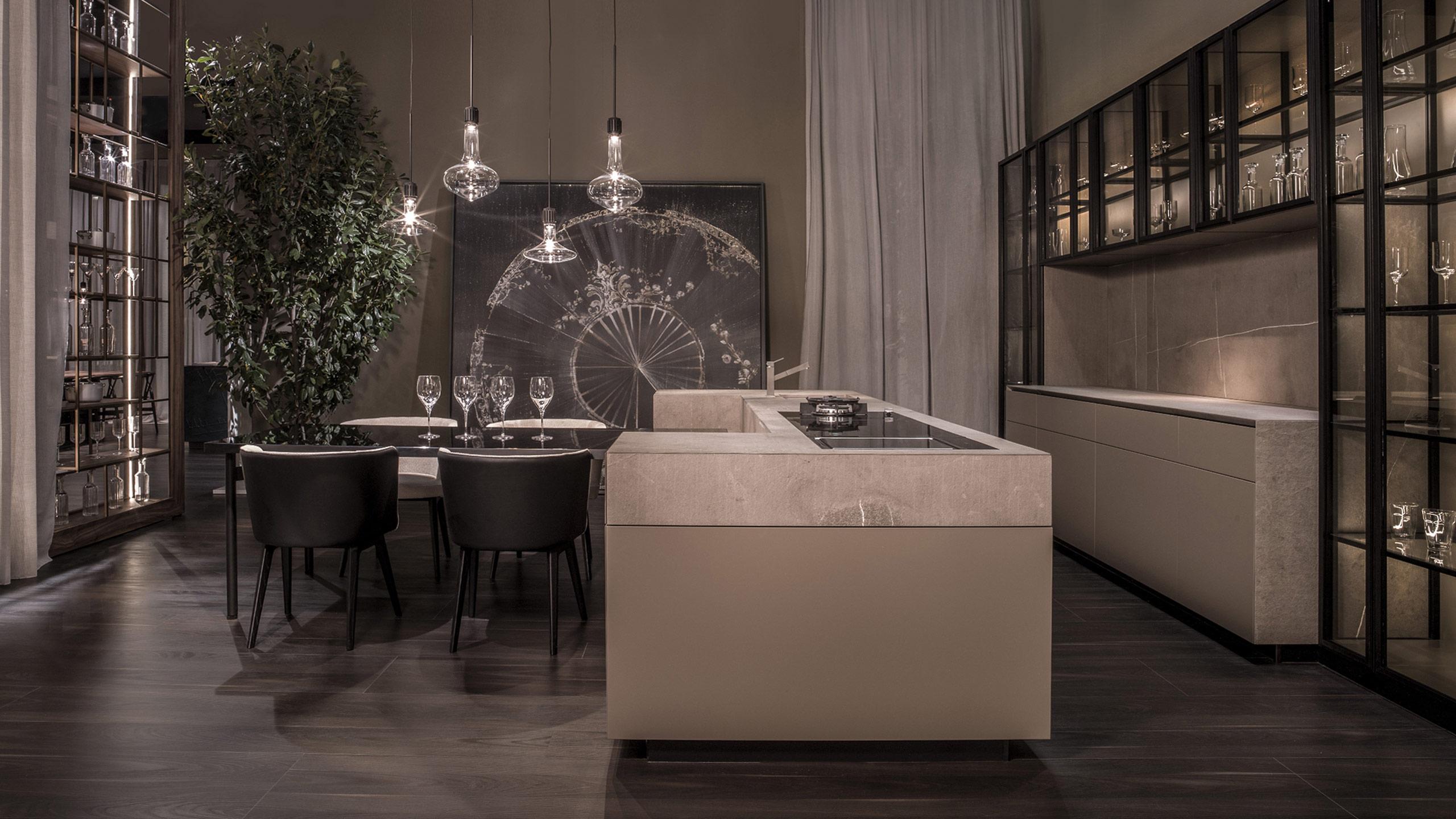 Cucina Modello Monolite - SCIC Italia - SCIC Cucine