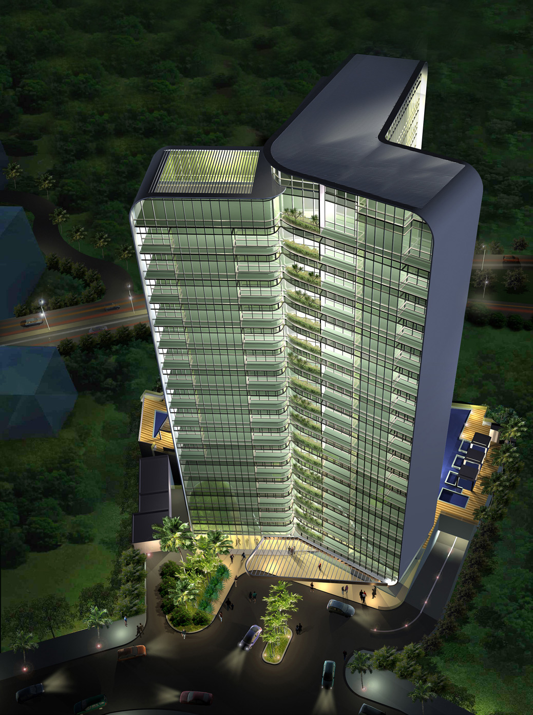 Contract scic italia for Cube suites istanbul